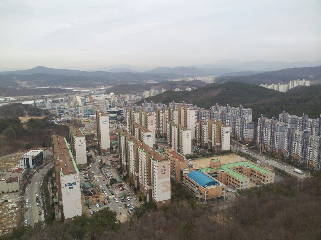 Gyeryong, South Korea.  My home for nearly two years.