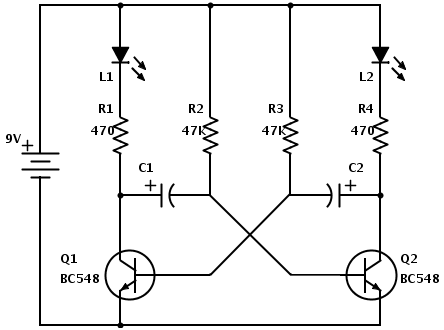 astable-multivibrator
